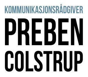 Kommunikasjonsrådgiver Preben Colstrup
